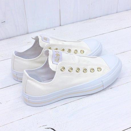 CONVERSE ALL STAR SLIP 3 OX オフホワイト/ゴールド