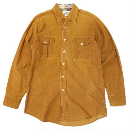 60's WOOLRICH Corduroy shirt
