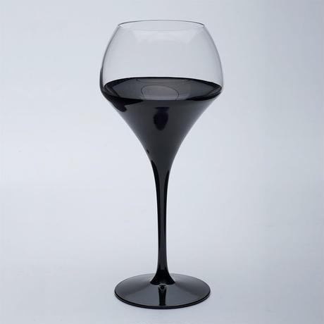 Lashiku 吟醸高月グラス(朱・黒 有)