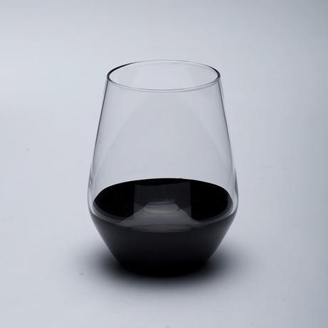 Lashiku 吟醸ロックグラス(朱・黒 有)