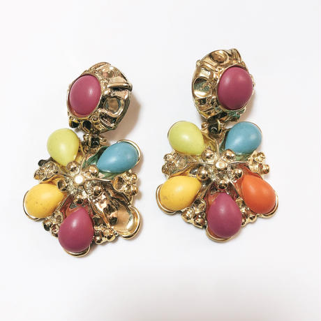 80'S colorful earring/80'Sカラフルイヤリング