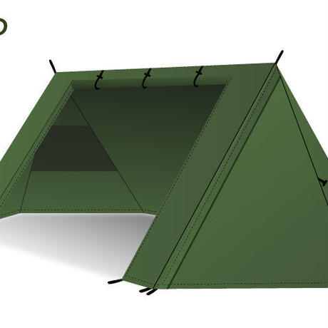 DD SuperLight - A - Frame Tent *日本正規品* スーパーライト Aフレームテント パップテント 【DDハンモック】