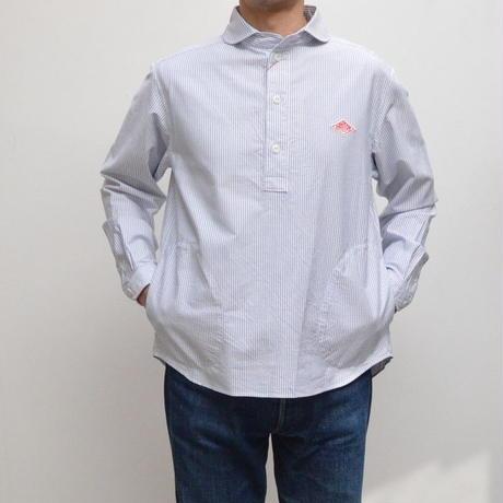 【メンズ】DANTON(ダントン)ポケット付 ショールカラー プルオーバーシャツ JD-3568TRD