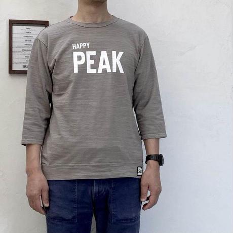 【メンズ】u.m.i sunrise ( ユーエムアイサンライズ) スラブ 7分袖Tシャツ PEAK Y-0753E