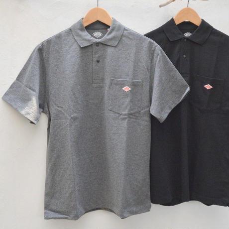 【メンズ】DANTON(ダントン)ポケット付 カットソーポロシャツ  [JD-9126-MNS]