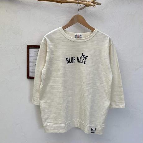 【メンズ】u.m.i sunrise ( ユーエムアイサンライズ) スラブ 7分袖Tシャツ PEAK Y-0753C