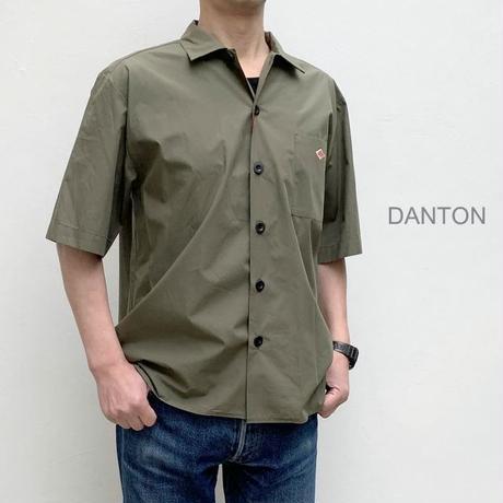 【メンズ】DANTON(ダントン)コットンポプリン 半袖ワイドシャツ  [JD-3609MSA-MNS]