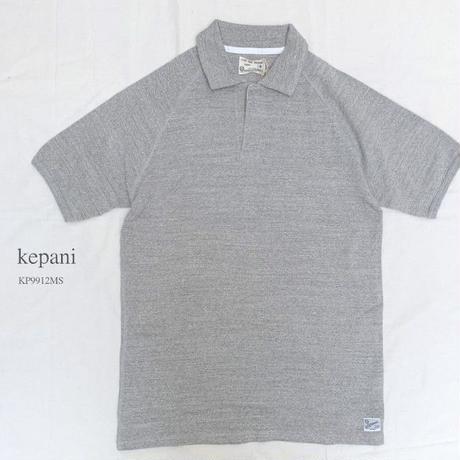 【メンズ】kepani[ケパニ] ラフィストレッチフライス ショートスリーブ ポロシャツ KP9912MS
