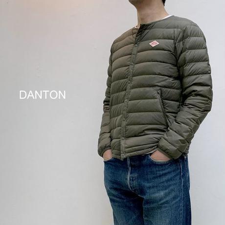 薄く軽いインナーダウンジャケット【メンズ】DANTON ダントン インナー ダウンジャケット [JD-8751]