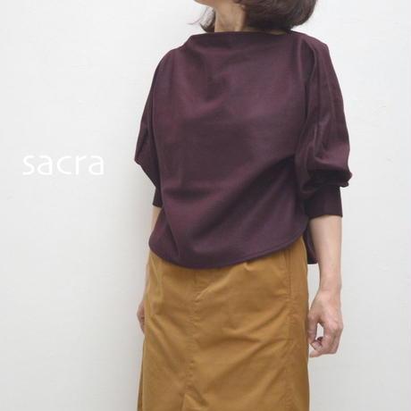 【レディス】SACRA(サクラ)ファインミルドウールブラウス 1185661021