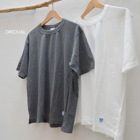 【メンズ】Orcival(オーシバル)クルーネック 半袖Tシャツ 無地 RC-9121