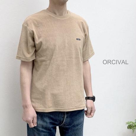 【メンズ】Orcival(オーチバル)半袖パイルTシャツ RC-9169