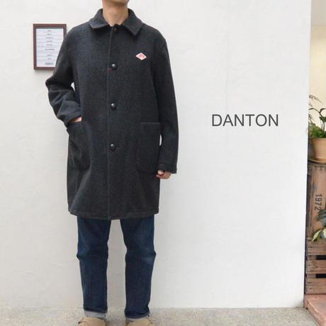 【メンズ】DANTON ダントン ライトウールモッサー ステンカラーコート [JD-8846LMM]