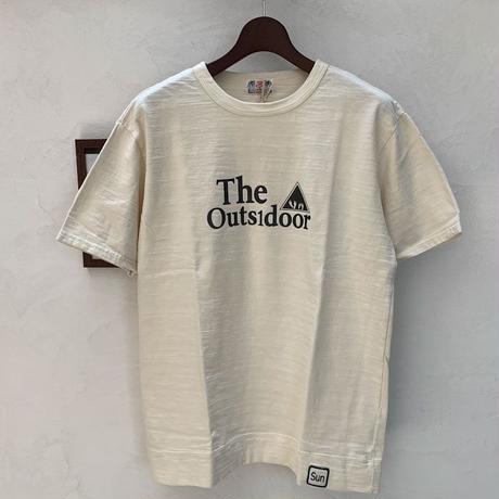 【メンズ】u.m.i sunrise ( ユーエムアイサンライズ) スラブ生地 半袖Tシャツ The [Y-0736D]