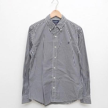 【メンズ】Gymphlex(ジムフレックス)MEN'S ギンガムボタンダウンシャツ J-0643GSC