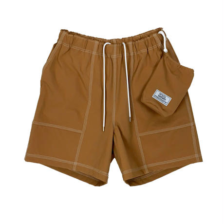 MR.EVERYDAY'S ''80'S SHORTS'' (POCKETABLE) L.BROWN