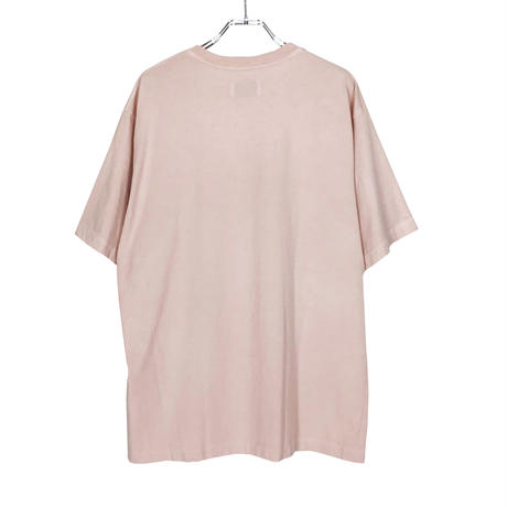MR.EVERYDAY'S  ''PIGMENT DYE TEE'' L.PINK