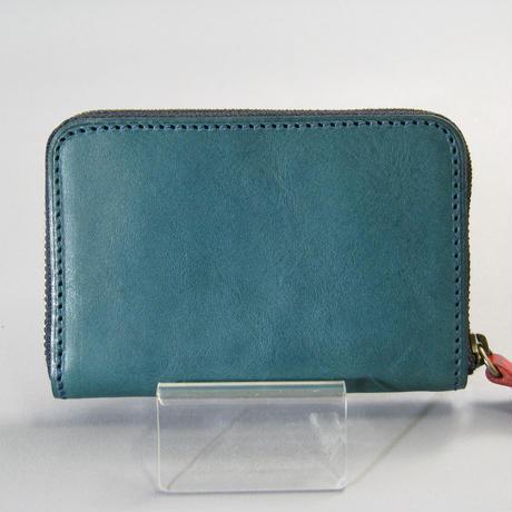 ラウンドファスナー ミニ財布