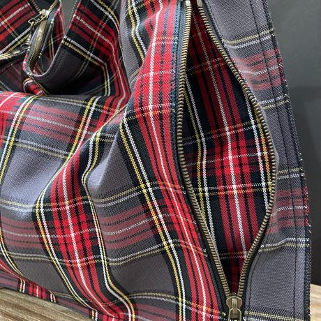 mirage-M タータンチェック帆布