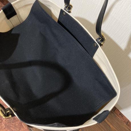 ストライプ 帆布トートバッグ Sサイズ