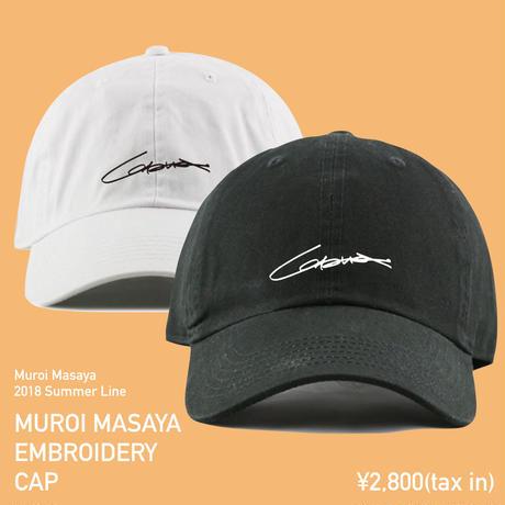 Muroi Masaya Embroidery Cap <室井雅也刺繍入りキャップ>
