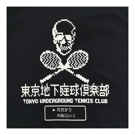 TUTC8bitスカルドライTシャツ(別注復刻デザイン) レッド Lサイズ