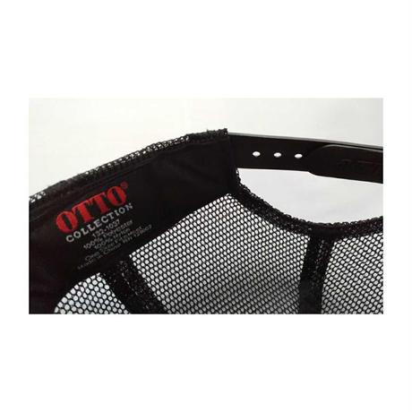 TUTC8bitゲームメッシュキャップ(MSスポーツ別注デザイン) ブラック
