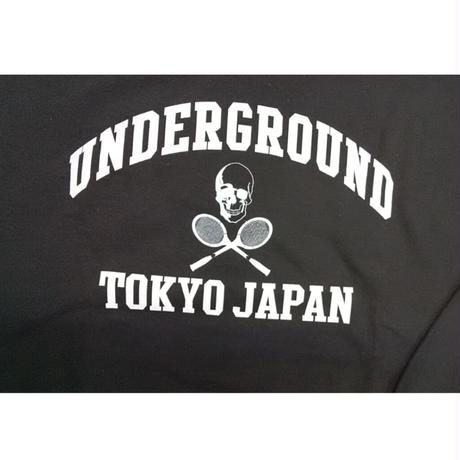 TUTCクルーネックスウェット(別注2ndスカルデザイン)ブラック