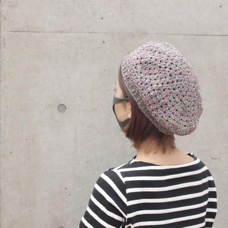 ハルガスミのかぎ針編みベレー帽キット
