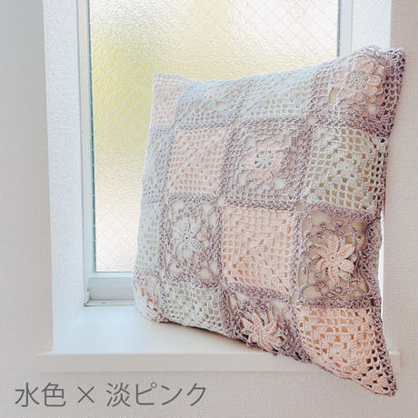 FOOD TEXTILE 春の花モチーフクッションカバーキット
