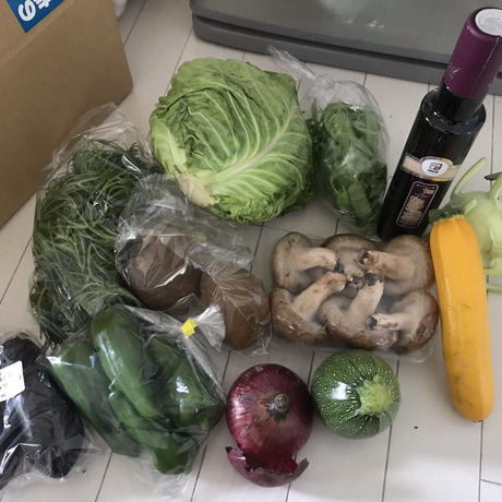 野菜の詰め合わせセット(内容は季節によって変わります)