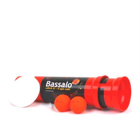 バッサロ!赤1個(カップ×2個:ボール2個:遊び方説明書×1)