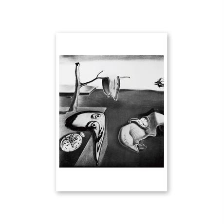 ポストカード/サルバドール・ダリ、フィリップ・ハルスマン《シュルレアリスムとは、私自身だ》