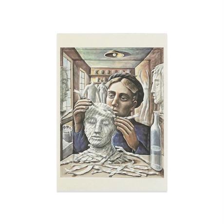 ポストカード/PJ クルック《紙でできた女》