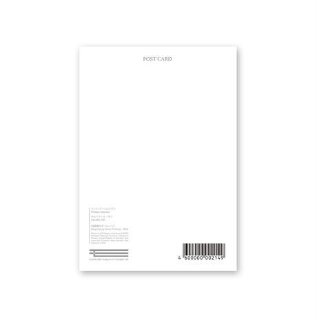 ポストカード/サルバドール・ダリ、フィリップ・ハルスマン《虫眼鏡のポートレート》