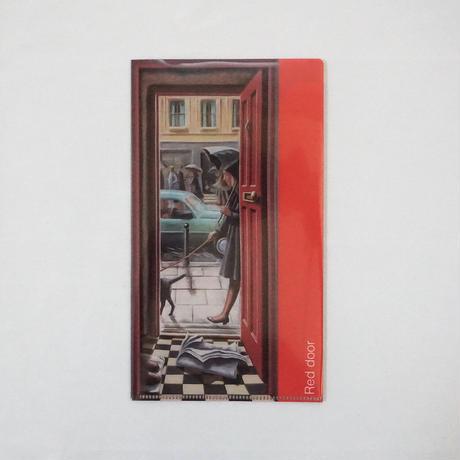 チケットホルダー/PJ クルック《レッドドア&グリーンドア》