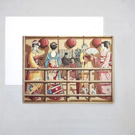 グリーディングカード/PJクルック《京都》