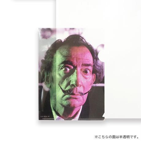 "A5両面クリアファイル/""交わる照明"" ""直立する二人の番兵のように・・"