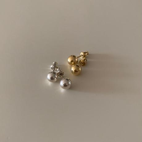 ball pierce -gold-