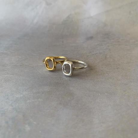 iki ring -silver-