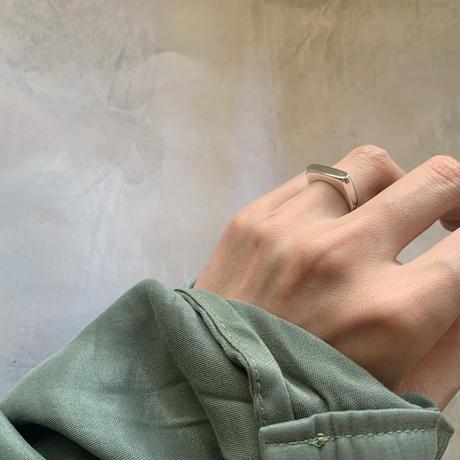 darsha ring - silver-