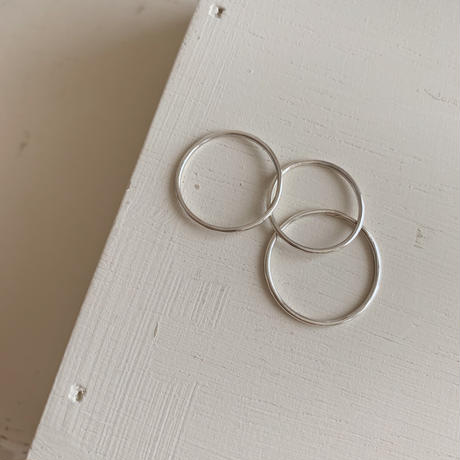 TP set ring -silver-