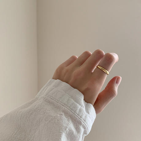 elementary ring ( gold/silver )  -silver950-