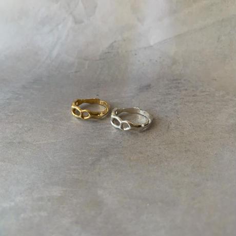 wabi sabi ring -gold-