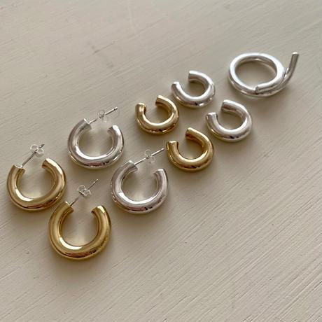 HS ear cuff -silver-