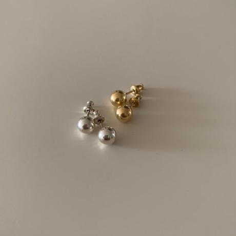 ball pierce -silver-