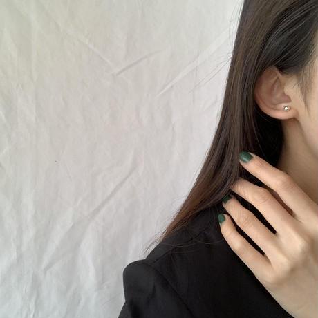 mini ball pierce -silver-