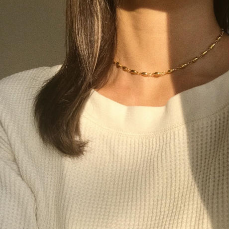 (再入荷)grains chain choker