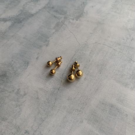 mini ball pierce -gold-