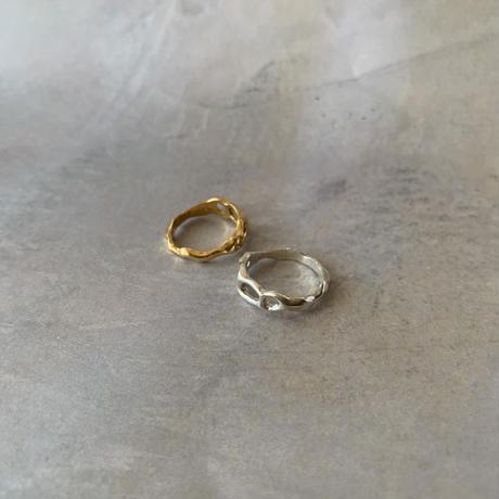 wabi sabi ring -silver-